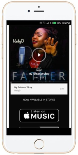 music promotion screen shot of my father of glory